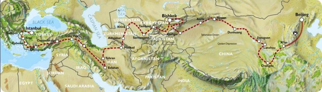 Bishkek to Beijing