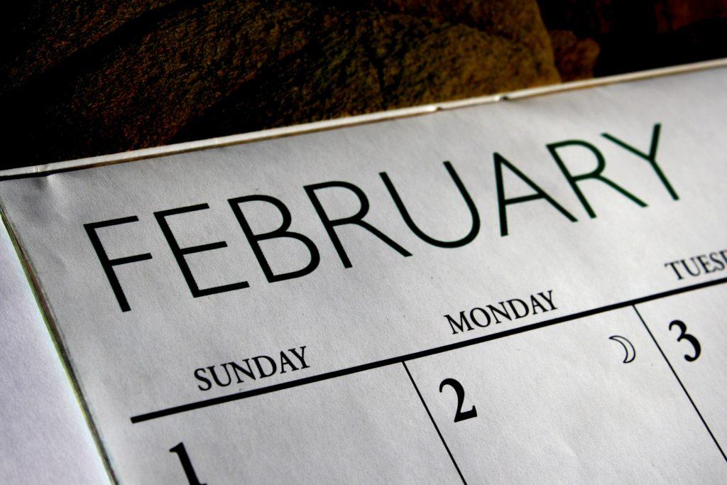Upcoming meetings - February