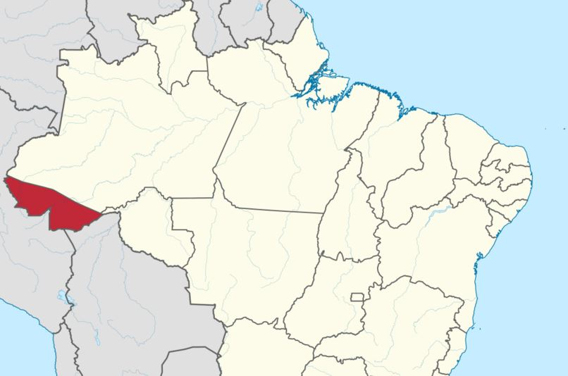 State of Acre in Brazil