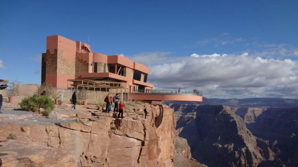 Glass bridge grand canyon
