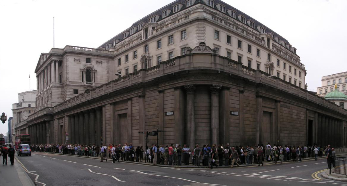 The queue at the Bank of England (2.5Hrs) for Open House 2006