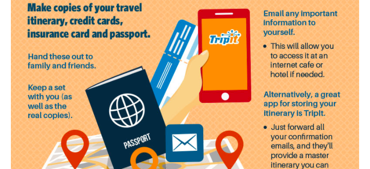 How-To-Stay-Safe-While-Traveling-Infographic