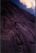 Climbing Trikora