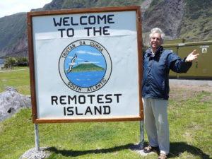 André Brugiroux on Tristan da Cunha