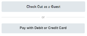 PayPal Card only Options