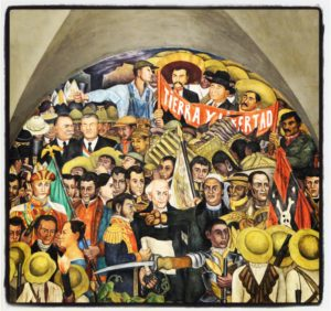 Russell Maddicks - Magical Mexico City - Diego Rivera - Palacio Nacional