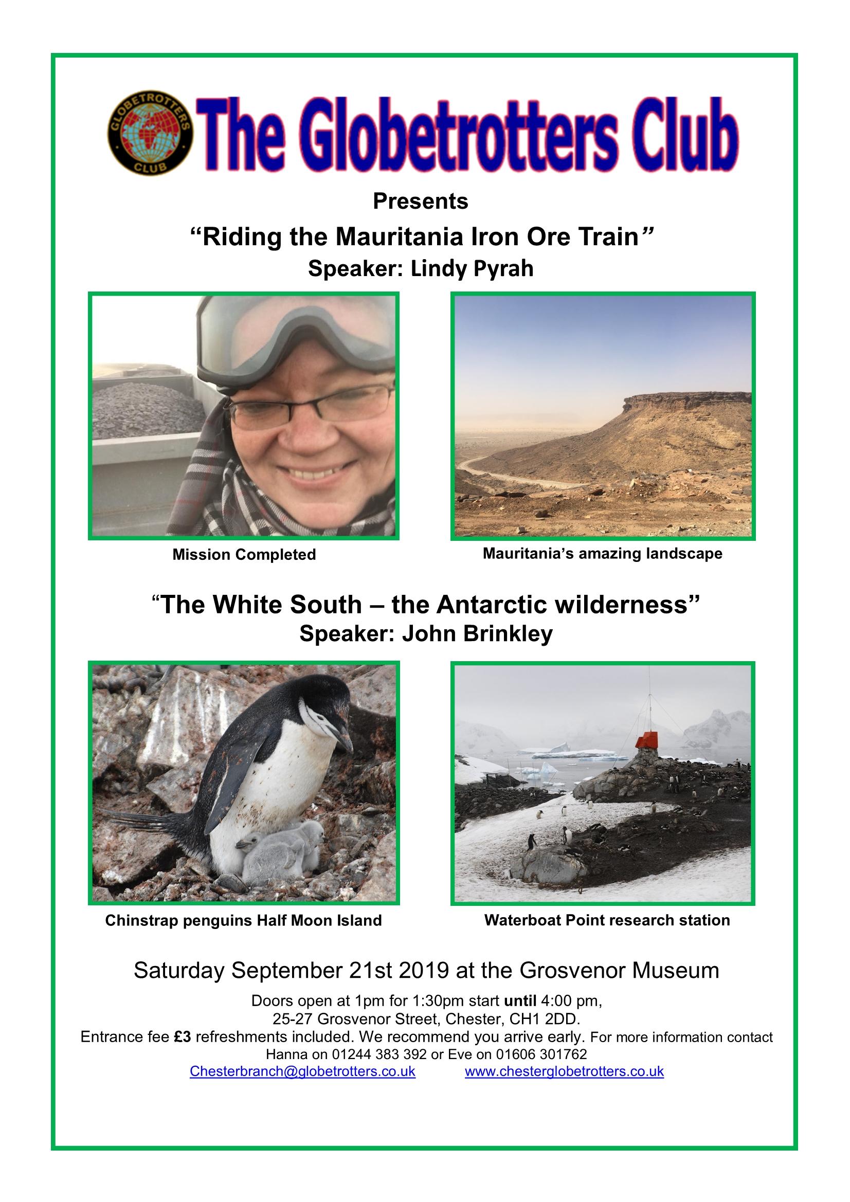 Chester Meeting Poster, September 2019
